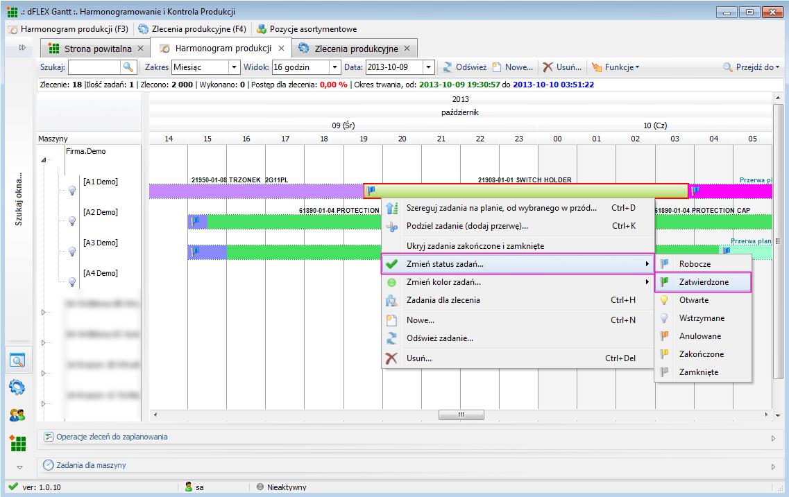 Cechy dflex gantt interaktywny system planowania produkcji system zapewnia dynamiczny diagram gantta z funckjonalnoci przecignij i upu dragndrop za pomoc ktrego wykonywane s wszelkie operacje zwizane ccuart Choice Image