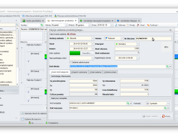 Edycja zadania produkcyjnego z zaawansowanymi funkcjami: czasów, ilości, maszyn