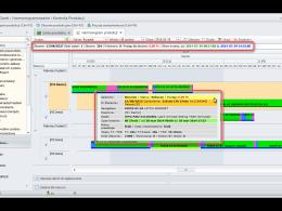 Szybki dostęp do informacji o zleceniach i zadaniach produkcyjnych w systemie dFLEX Gantt
